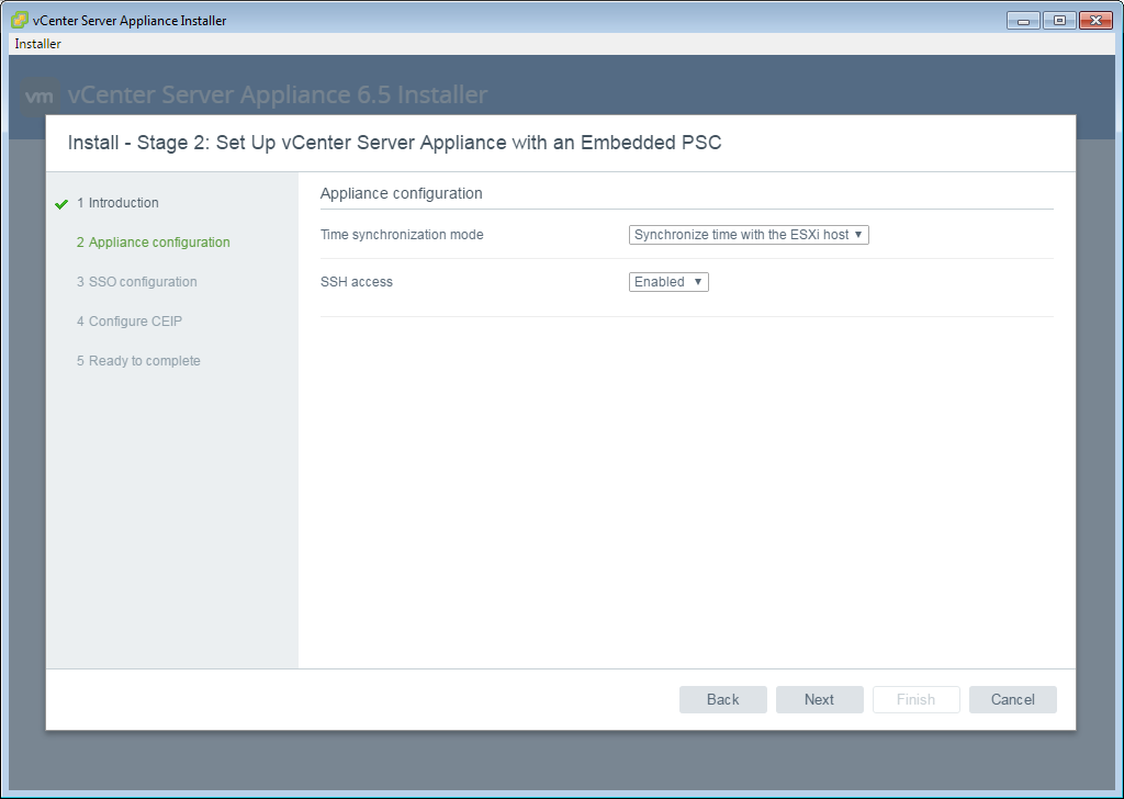 Install vCenter Server Appliance (VCSA) 6 5 – All things in