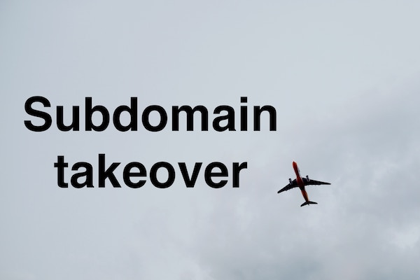 subdomain takeover